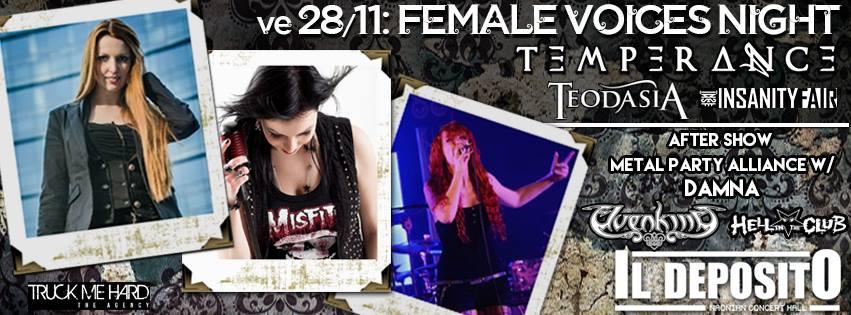 Female Voices Night