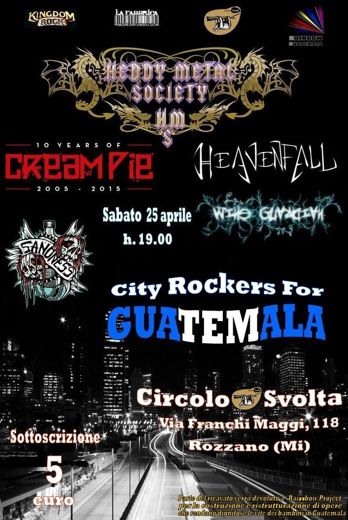 City Rockers For Guatemala
