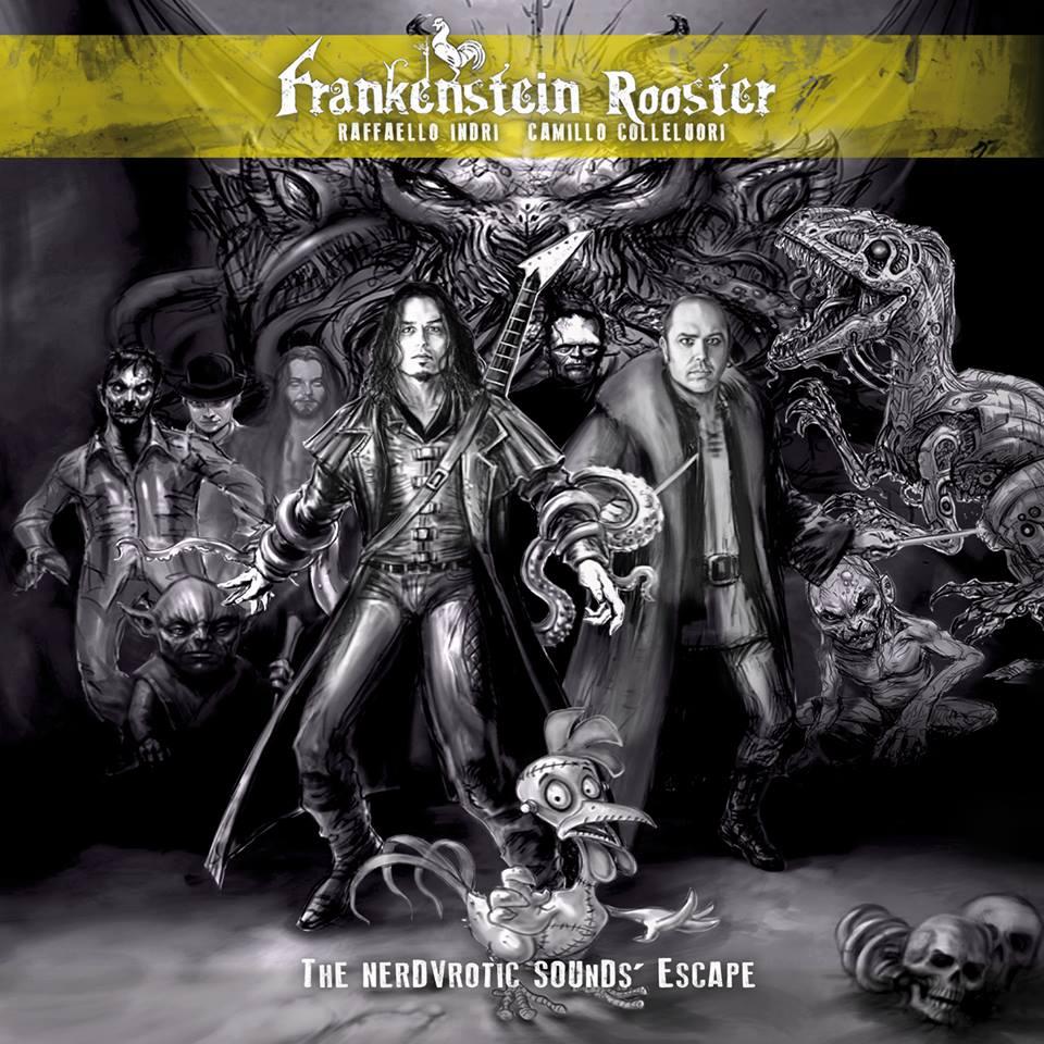Frankenstein Rooster artwork