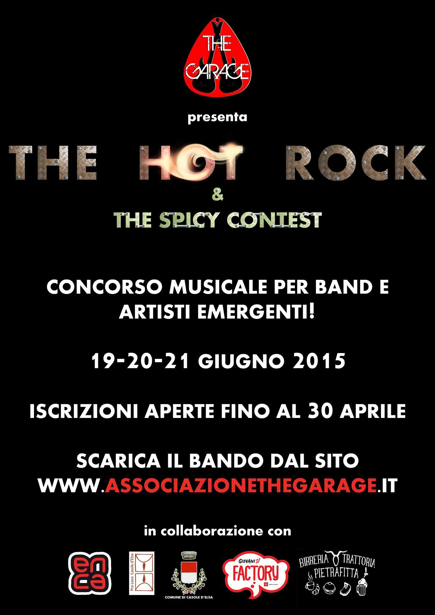 The Hot Rock & Spicy Contest