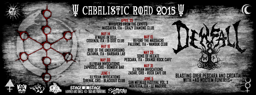 dewfall cabalistic tour 2015