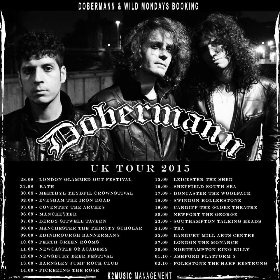 dobermann tour uk