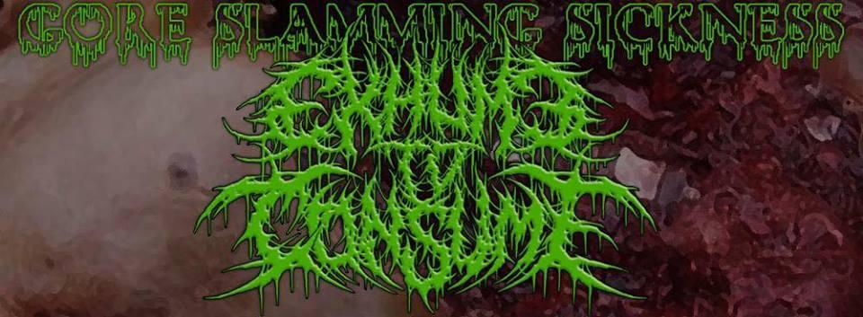 exhume to consume copertina