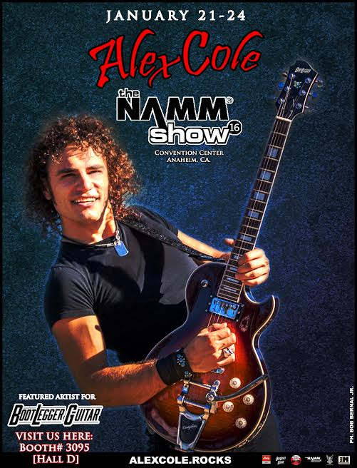 alex cole namm 2016