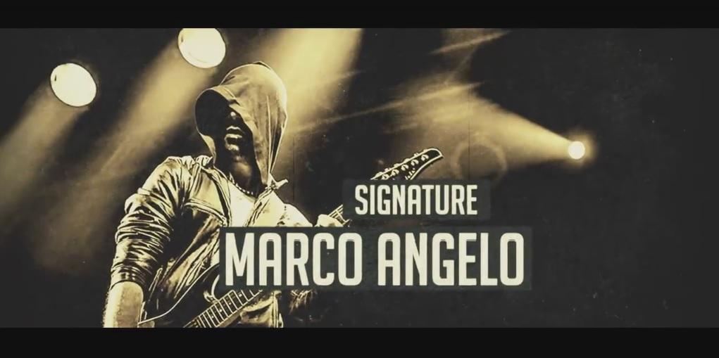 marco angelo signature guitar