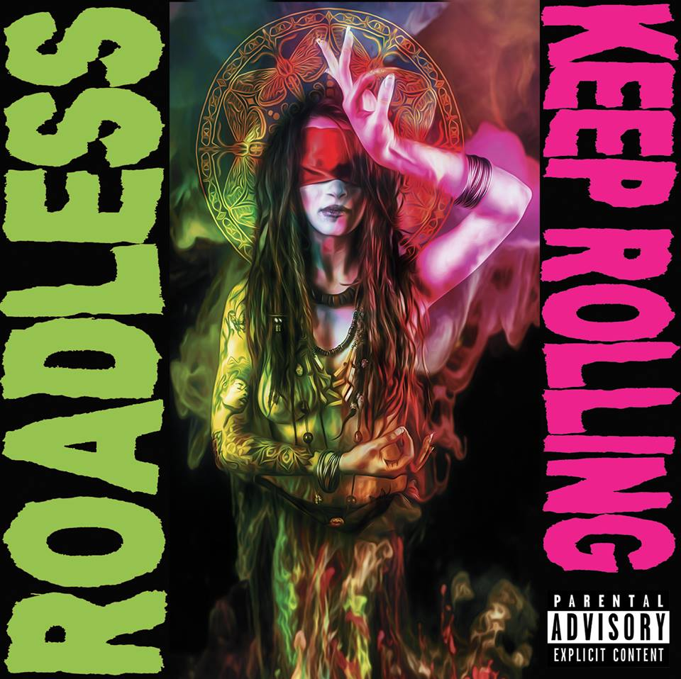 roadless keep rollin artwork