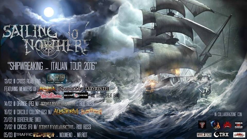 sailing to nowhere shipwrecking italian tour