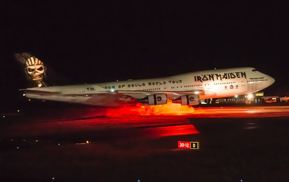 iron maiden ed force one