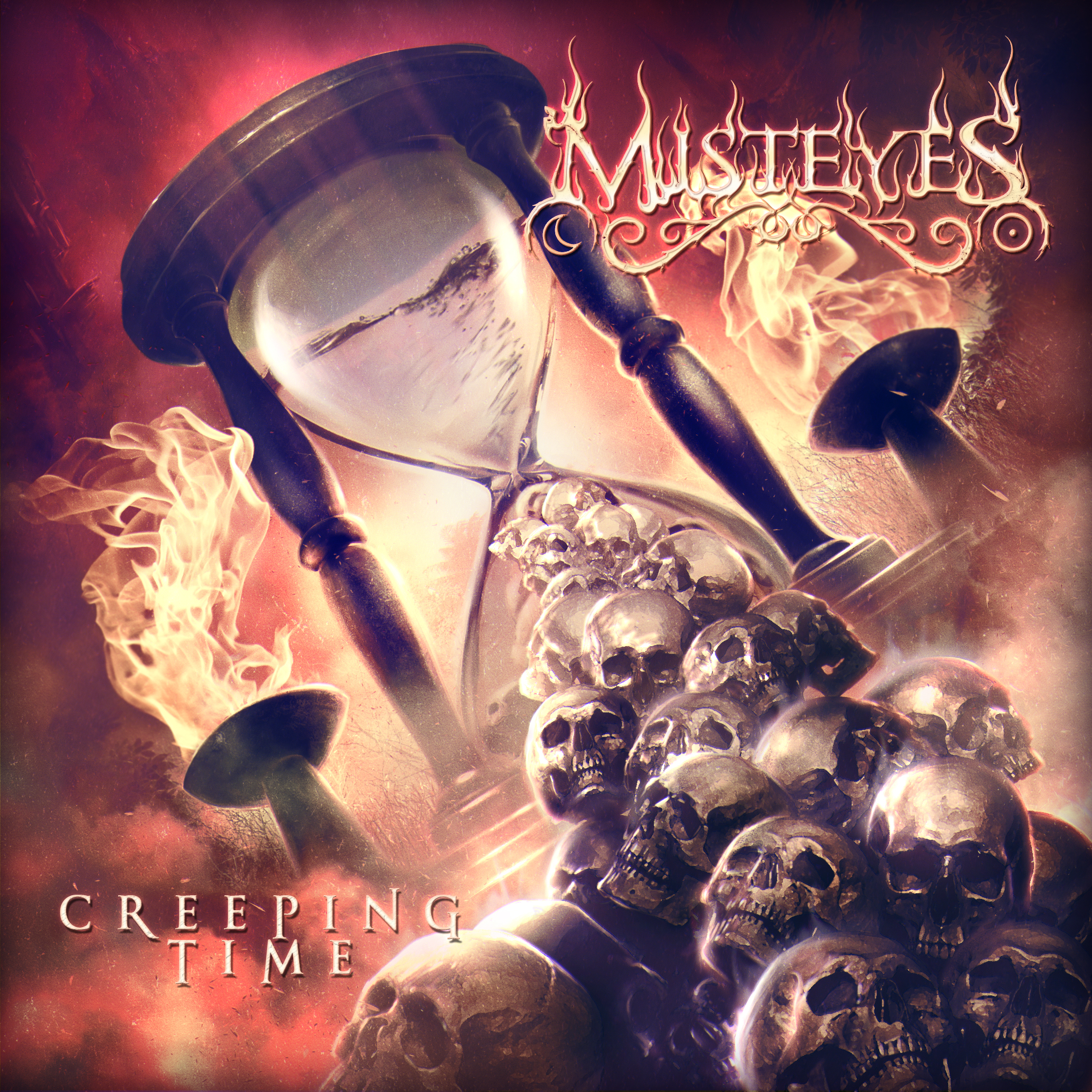 Creeping Time - Front Cover Artwork