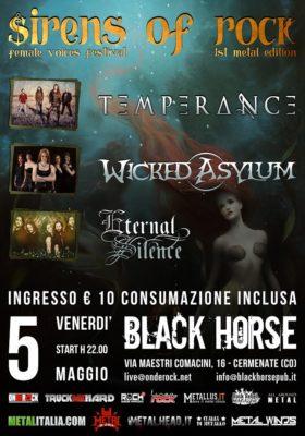 SIRENS OF ROCK - Femal Voices Festival @ Black Horse Pub | Cermenate | Lombardia | Italia