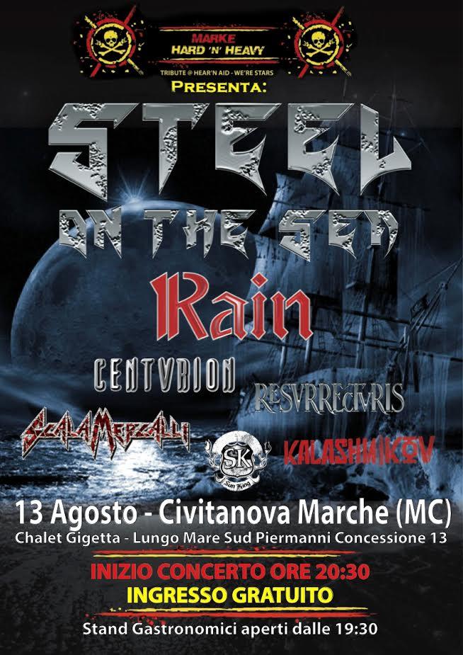 steel on the sea