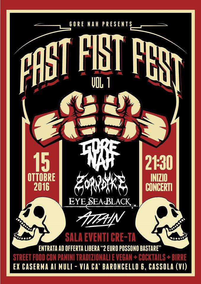 Fast Fist Fest 2016 @ Cre-Ta | San Giuseppe | Veneto | Italia