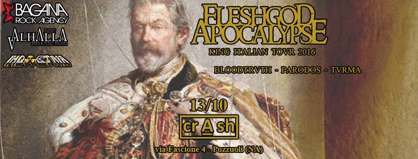 Fleshgod Apocalypse al Crash Pozzuoli con Bloodtruth, Párodos, Turma @ Crash Pozzuoli | Pozzuoli | Campania | Italia