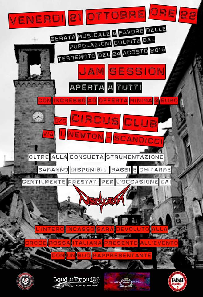 Jam session benefica @ Circus  | Scandicci | Toscana | Italia