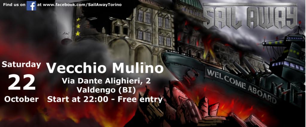Sail Away@Vecchio Mulino - October 22, 2016 @ Vecchio Mulino | Vigliano Biellese | Piemonte | Italia