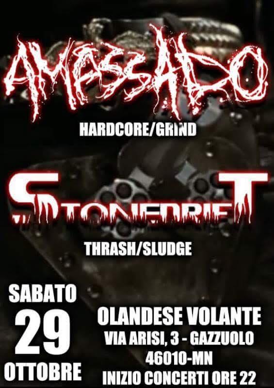 Amassado + Stonedrift live at Olandese Volante @ Olandese Volante | Lombardia | Italia