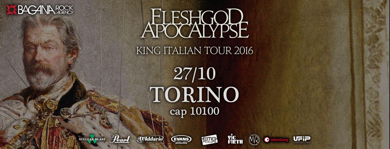 Fleshgod Apocalypse - King Italian Tour 2016 - Cap 10100 @ Cap10100  | Torino | Piemonte | Italia