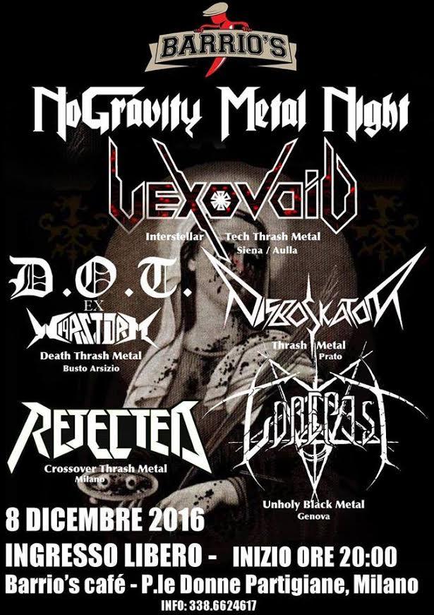 NoGravity Metal Night with Vexovoid @Barrio's @ Barrio's Cafè  | Lombardia | Italia