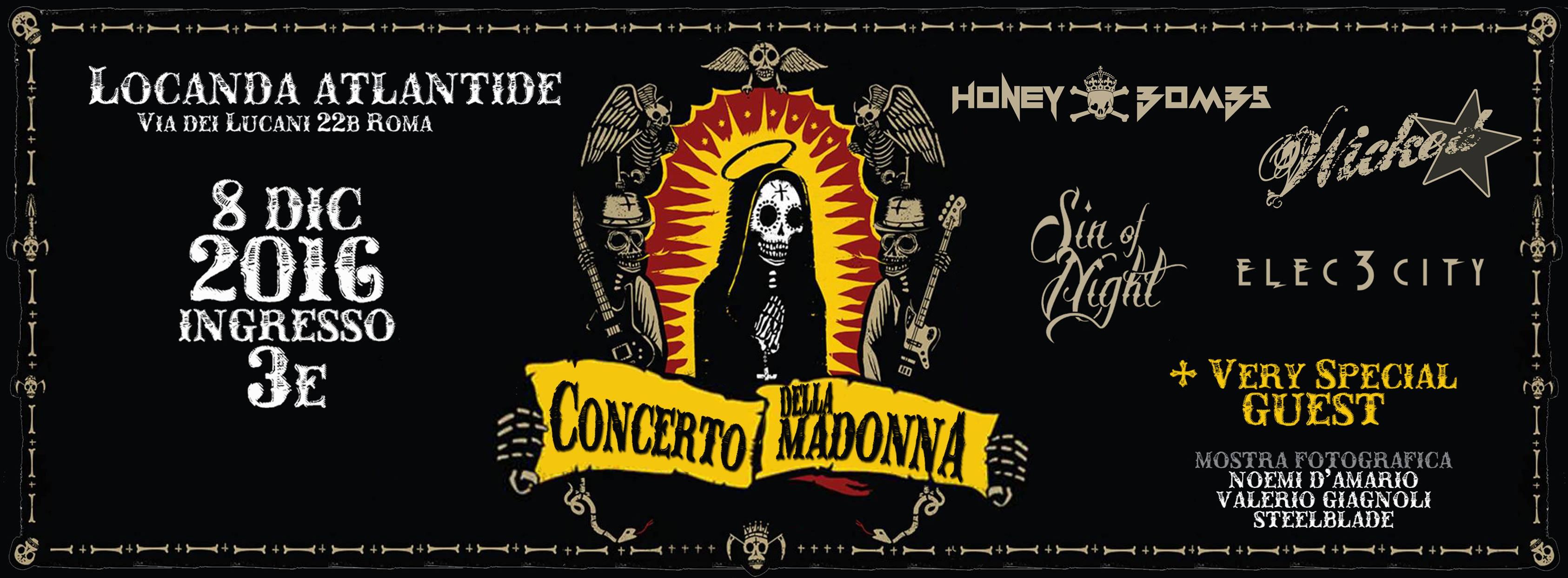 Concerto della Madonna e foto da Dio! @ Locanda Atlantide  | Roma | Lazio | Italia