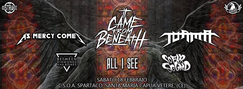 ame From Beneath + guest @CSOA Spartaco, SMCV @ CSOA Spartaco | Santa Maria Capua Vetere | Campania | Italia