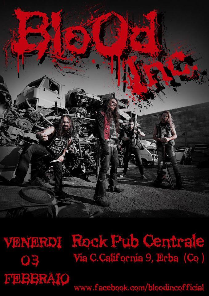 Blood Inc. Live @Centrale Rock Pub @ Centrale Rock Pub | Erba | Lombardia | Italia