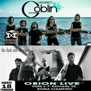 Claudio Simonetti'S Goblin +Guests // Roma - Orion @ ORION | Ciampino | Lazio | Italia