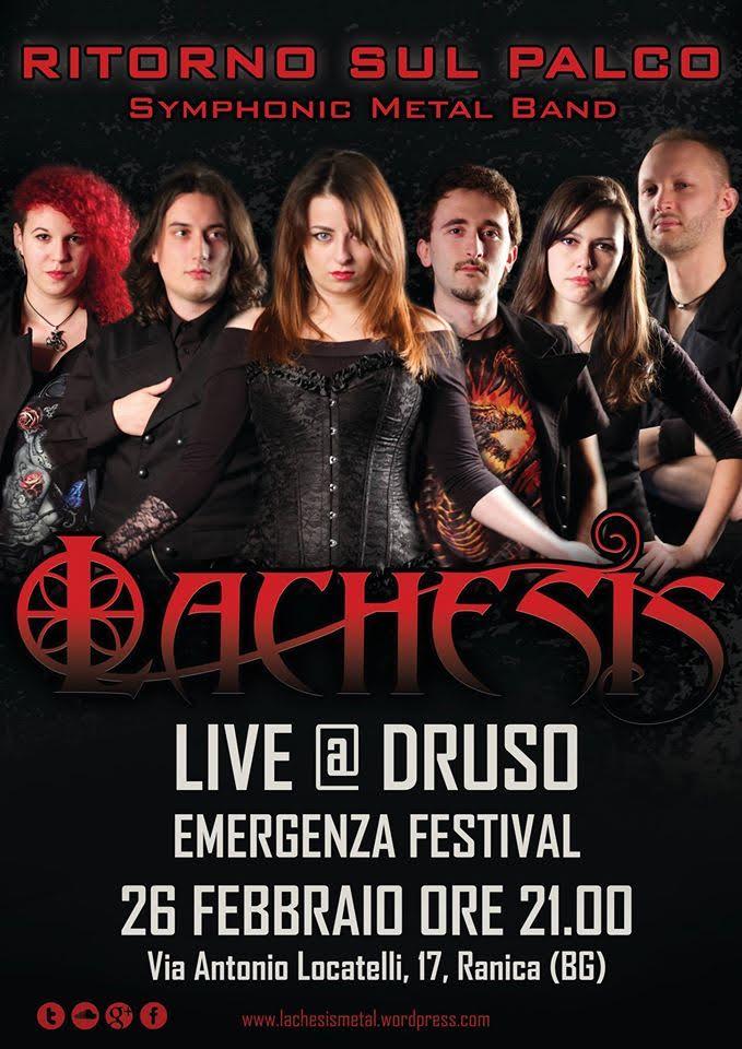 Lachesis Live @Druso di Ranica (BG) @ Druso | Villa di Serio | Lombardia | Italia