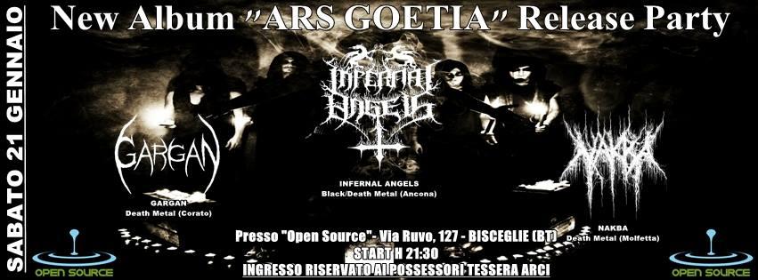SvartMetall: Infernal Angels, Gargan, Nakba @ OpenSource Bisceglie | Bisceglie | Puglia | Italia