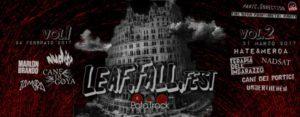 FALL LEAF Fest - Vol1 & Vol2 @ PataTrack | Porcari | Toscana | Italia