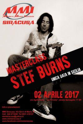 Stef Burns Masterclass MMI Siracusa @ Agriturismo La Perciata   Italia