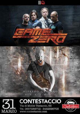 GAME ZERO + Alfredo Gargaro Live @ Contestaccio | Roma | Lazio | Italia