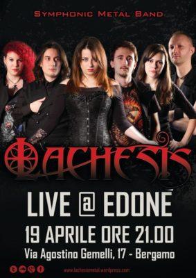Lachesis live @Edonè @ Edoné  | Bergamo | Lombardia | Italia