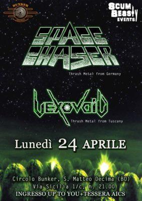 Space Chaser + Vexovoid - Circolo Bunker @ Circolo Bunker | San Matteo della Decima | Emilia-Romagna | Italia