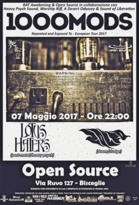 1000Mods (Greece) \ Lotus Haters \ Zolfo live at Open Source @ OpenSource Bisceglie | Bisceglie | Puglia | Italia