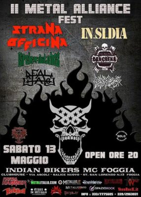 II Metal Alliance Fest con Strana Officina - In.si.dia + guests @ Indian Bikers  | Foggia | Puglia | Italia