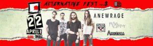 Alternative Fest part II: Anewrage_Nova X_Fear of Apathy_Amnèsia @ Defrag | Roma | Lazio | Italia