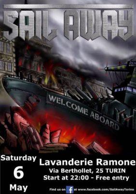 Sail Away + Dick's Fall @ Lavanderie Ramone | Torino | Piemonte | Italia