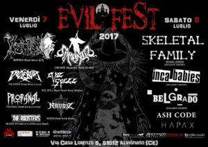 EVIL FEST 2017 @ EVIL FEST | Campania | Italia