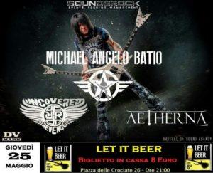 MICHAEL ANGELO BATIO + Guests @ Let it Beer @ Let It Beer  | Roma | Lazio | Italia