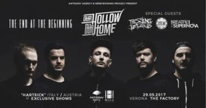Our Hollow, Our Home • The End At The Beginning • Guests @Verona @ The Factory | Beccacivetta-azzano | Veneto | Italia
