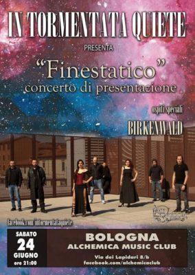 In Tormentata Quiete: presentazione del nuovo album Finestatico @ ALCHEMICA CLUB  | Bologna | Emilia-Romagna | Italia