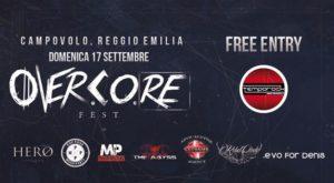 OvercoRE fest! 17 Settembre 2017 Festareggio Reggio Emilia @ Madiba Festareggio | Reggio Emilia | Emilia-Romagna | Italia