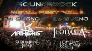 SOUNDSROCK FEST Vol. II: ARTHEMIS + TEODASIA + Guests @ Dissesto Musicale | Tivoli | Lazio | Italia