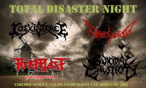 Total Disaster Night @ Circolo Svolta    Rozzano   Lombardia   Italia