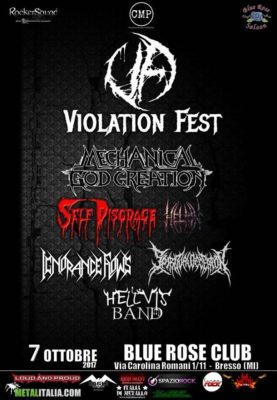 Violation Fest 2017 @ BLUE ROSE CLUB | Bresso | Lombardia | Italia