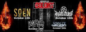 BLACK STAR Riders +Hollywood Groupies at Circolo Colony, Brescia @ Circolo Colony  | Brescia | Lombardia | Italia