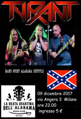 Tyrant + The Alabama Shuffle Live! @ La beata quartina dell'Alabama | Milano | Lombardia | Italia