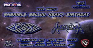 TMA Night : Gabriele Bellini Birthday In Music @ Riff Club  | Prato | Italia