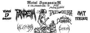 Metal Symposium presenta: Pandemia (CZ), Tales of Deliria+guests @ MAT laboratorio urbano | Terlizzi | Puglia | Italia
