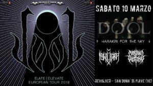 Dool , harakiri for the sky, Ishvara, AOD @ Revolver Club | San Donà di Piave | Veneto | Italia